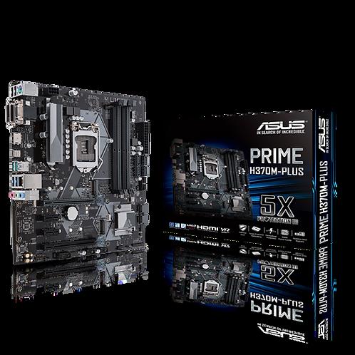 ASUS PRIME H370M-PLUS/CSM INTEL L1151 DDR4  HDMI DVI M.2  mATX MB