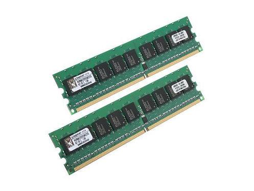 DDR2-667 2G KIT KINGSTON ECC #KVR667D2E5K2/2G