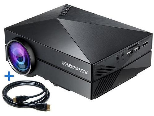 GM60 LED PROJECTOR 800 X 480 1000LUMENS