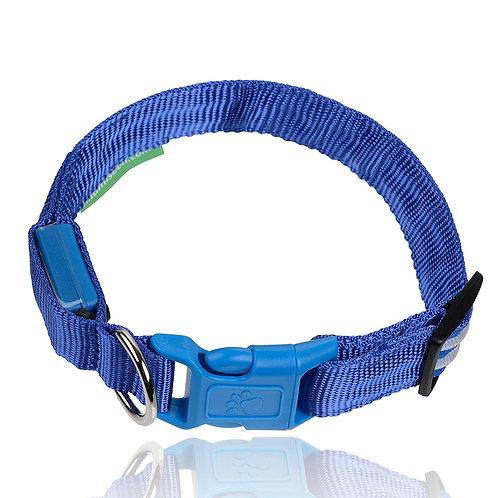 LED DOG COLLAR BLUE