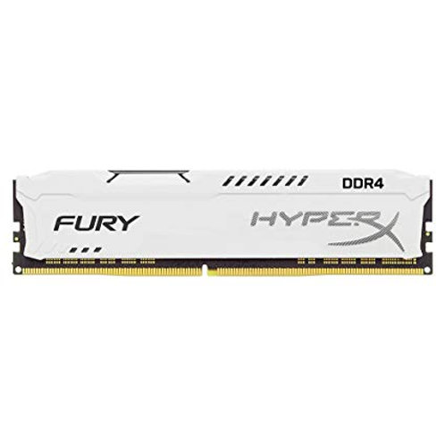 DDR4-2400 8G KINGSTON FURY WHITE CL15 #HX424C15FW2/8