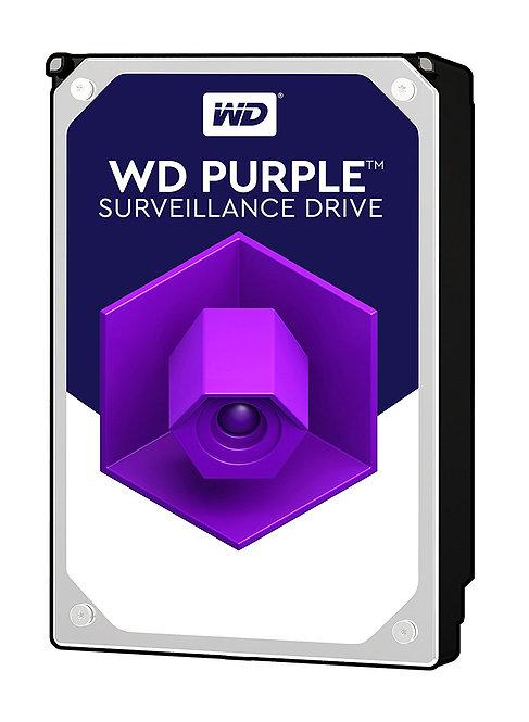 """HDD 4TB WD 3.5"""" WD40PURZ SATA6Gb/s 64MB SURVEILLANCE HDD"""