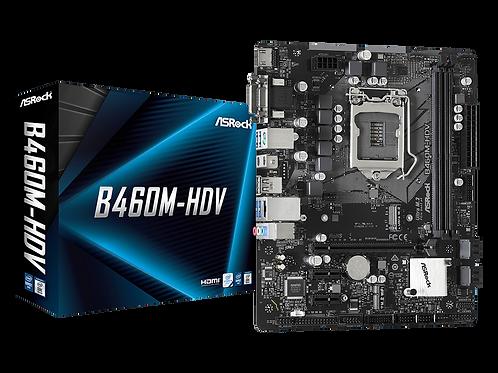 ASROCK B460M-HDV LGA 1200 INTEL B460 SATA3 USB 3.2 MICRO ATX MB
