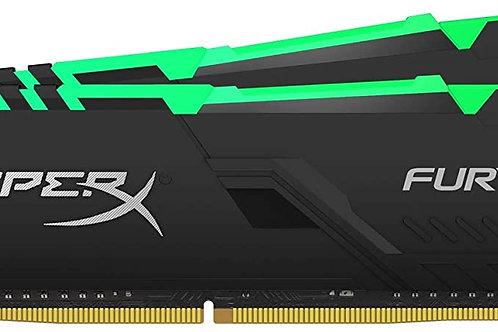DDR4-3200 32G KIT KINGSTON HX432C16FB3AK2/32 HYPERX FURY (2X16G) CL16