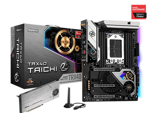 ASROCK TRX40 TAICHI AMD TRX40  DDR4 SATA 6Gb/s M.2 WIFI ATX MB