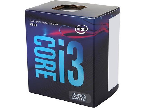 INTEL CI3-8100 BX80684I38100 3.6GHZ 6M 1151 65W 4 CORE COFFEELAK-S BOX CPU