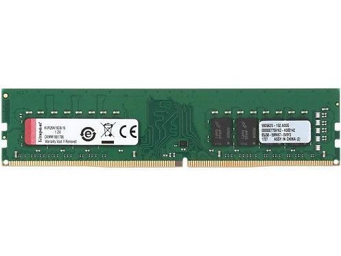 DDR4-2666 16G KINGSTON CL19 1.2V KVR26N19S8/16