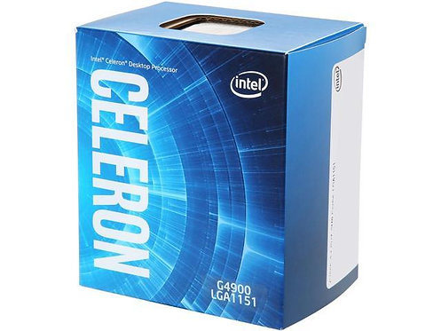 INTEL G4900 CELERON DUAL CORE 3.1GHz 2MB 1151 BX80684G4900 BOX CPU