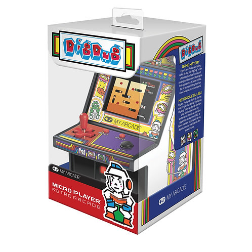 MY ARCADE 6 IN MICRO PLAYER DIG DUG MACHINE