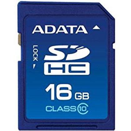 SDHC 16G ADATA RETAIL CL10 - ASDH16GCL10-R