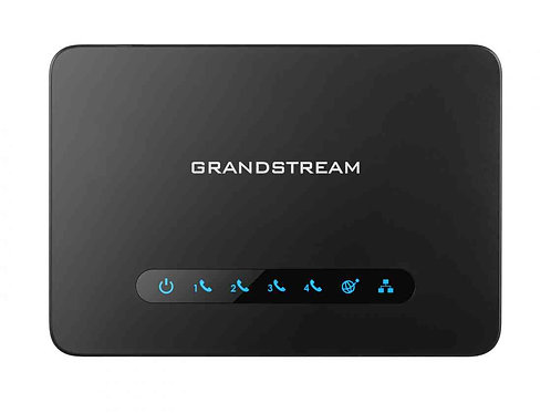 GRANDSTREAM HT814 VOIP 4 PORTS PHONE ADAPTER