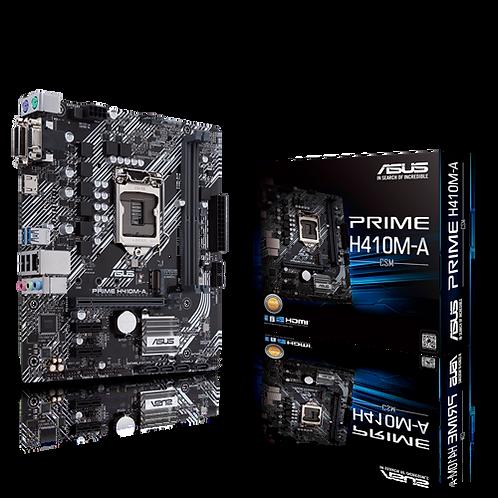 ASUS PRIME H410M-A/CSM LGA1200 H410 DDR4 64GB mATX Retail MB