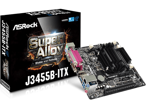 ASROCK J3455B-ITX INTEL QUAD CORE J3455 UP TO 2.3GHz MINI ATX