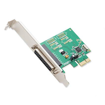 SYBA PCI TO PARELLEL LP 1 PORT ADAPTER