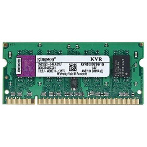 DDR2-800 2G KINGSTON #SNPTX760C/2G/3 BULK SODIMM 16C DELL
