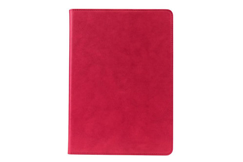 AMBERCNE LEATHER SMOOTH FOLIO CASE FOR IPAD AIR 2 RED