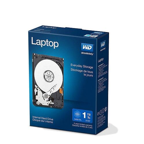 "HDD 1TB WD 2.5"" WDBMYH0010BNC-NRSN SATA 5400RPM 8M BLUE IN RETAIL BOX"