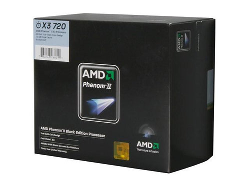 AMD-PHENOM II X3 720 2.8GHz 1.5M 95W AM3 BOX CPU