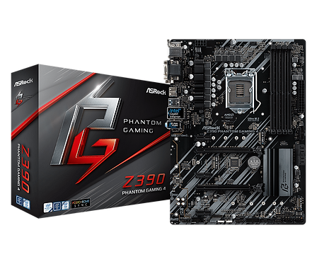 ASRock Z390 Phantom Gaming 4 LGA 1151 (300 Series) Intel Z390 HDMI SATA 6Gb