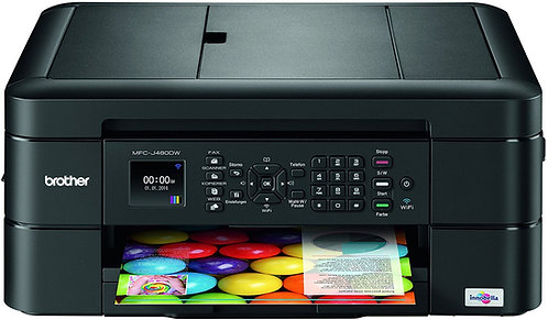 BROTHER MFC-J480DW COLOR WIRELESS ALL IN ONE PRINTER
