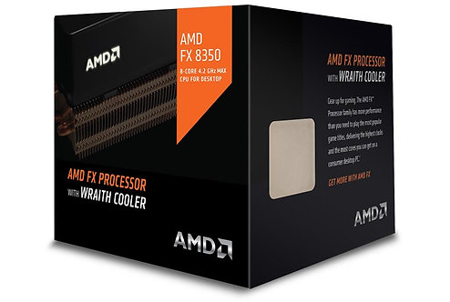 AMD-FX-8350 X8 4.0/4.2GHz 8MB 125W AM3+ FD8350FRHKHBX CPU (WRAITH COOLER)