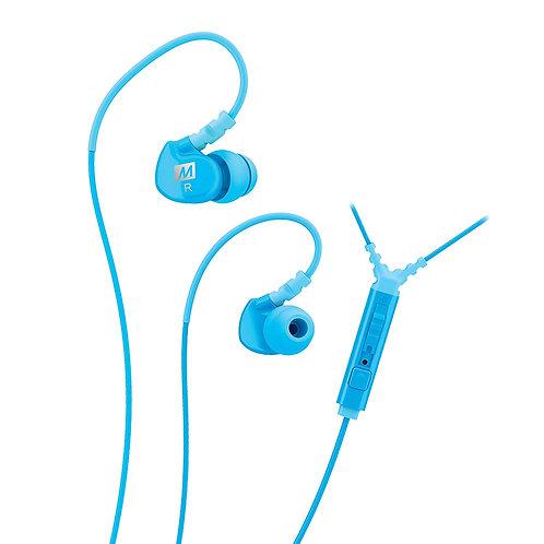MEE SPORT-FI M6P IN-EAR EARPHONE W/MIC,REMOTE-TEAL