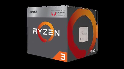 AMD-RYZEN 3 2200G AM4 3.5/3.7 GHZ 4CORES YD2200C5FBBOX