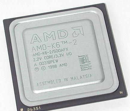 AMD-K6-2/500AFX OEM CPU