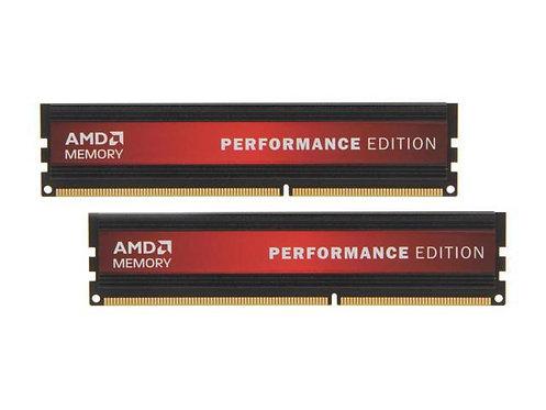 DDR3-1333 4G KIT 2X2GB AMD AP34G1338U1K PERFORMANCE EDITION 1.5V