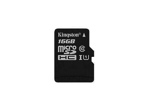 MICRO SDHC 16G KINGSTON C10 W/ ADP SDC10G2/16GBCR
