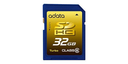 SDHC 32G ADATA C6ASDH32GCL6-R