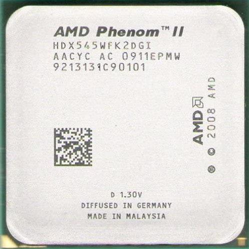 AMD-PHENOM II X2 545 3.0GHz 1M 80W AM3 BOX CPU OPEN BOX