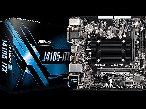 ASROCK J4105-ITX INTEL J4105 2.5GHz SATA3 M.2 MINI ITX MB W/CPU COMBO