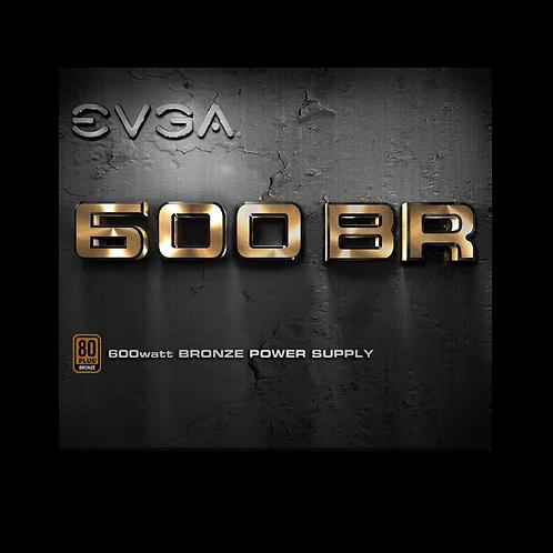 EVGA 600BR, 80 PLUS BRONZE 600W 100-BR-0600-K1