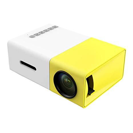 AMBER UC03 MULTI PROJECTOR WHITE/YELLOW 320X240 PIXEL 800:1 HDMI USB