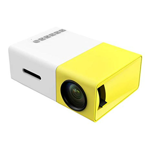 AMBER UC03 MULTI PROJECTOR WHITE/YELLOW 320X240 PIXEL 800:1 HDMI USB
