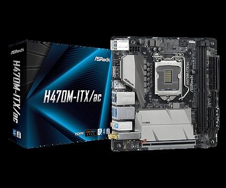 ASROCK H470M-ITX/AC  L1200 DDR4 SATA 6Gb/s MINI ITX MB
