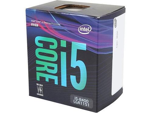 INTEL Ci5-8400 BX80684I58400 2.8/4.0GHZ 6 CORE 65W L1151 BOX CPU