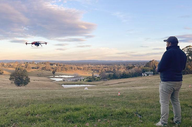 Overlooking Drone