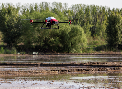 Automated Farming: XAG Introduces Rice Seeding Drone to Mitigate Labour Shortage