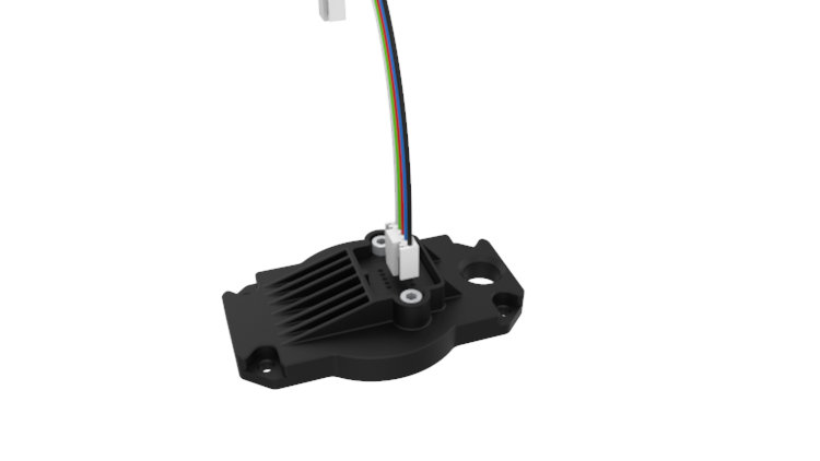 Nozzle Top Cover Components (Cable Included)