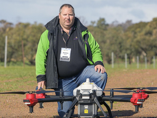 Capitalising on Drone Swarming Tech in Agriculture
