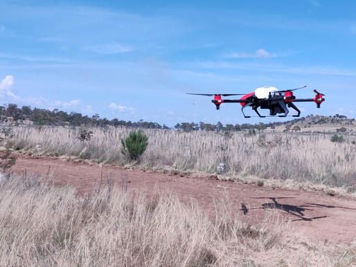 XAG Drones Joining Australian Taskforce to Defend Land from Invasion of Noxious Weed