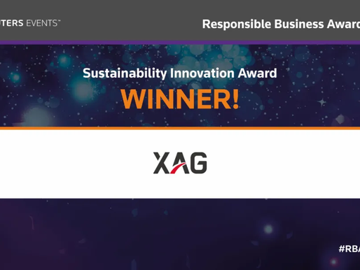 XAG is awarded Reuters Events RBAwards20!