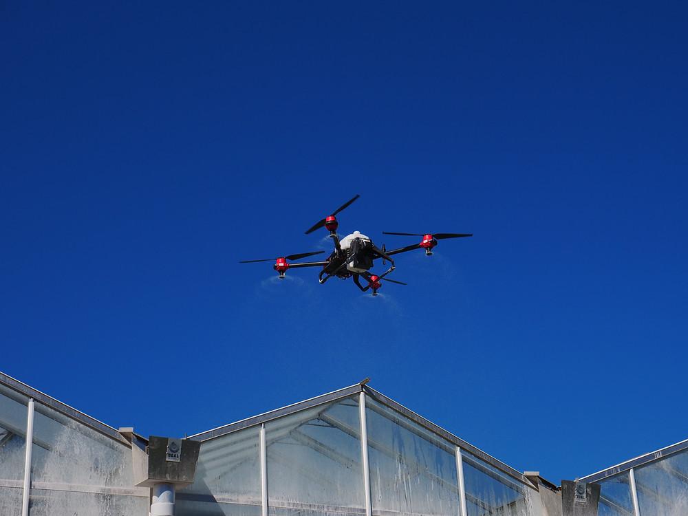 Utilizing XAG Drones for Greenhouse shading