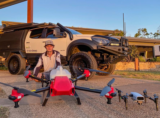 Aspiring Millennial Step up with XAG Drone for Australia's Fertile Soils