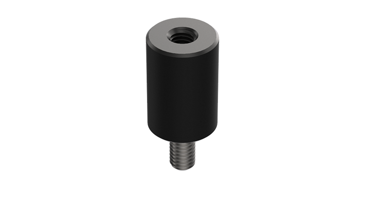 M3*8*10 Cylindrical Rubber Buffer (4 pcs)