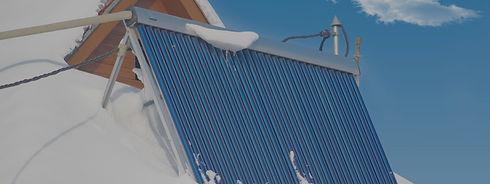 Underside solar panel