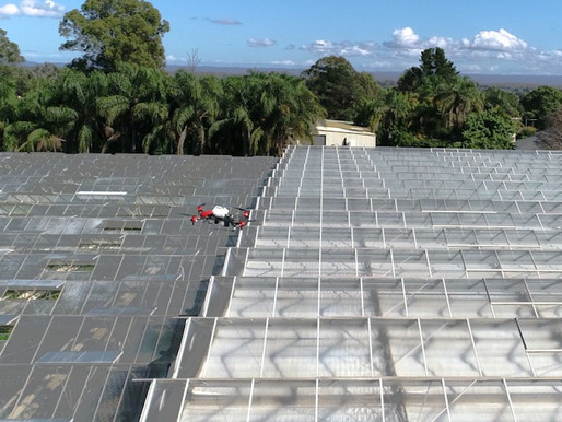 Drones to bring Sunlight for Greenhouse for Winter Season