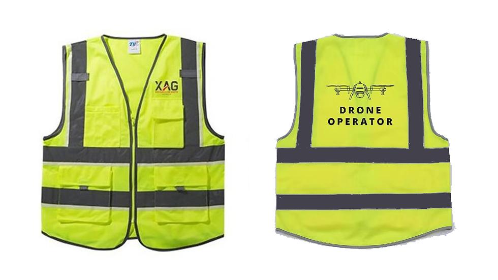 Reflective Hi-Vis Safety Vest